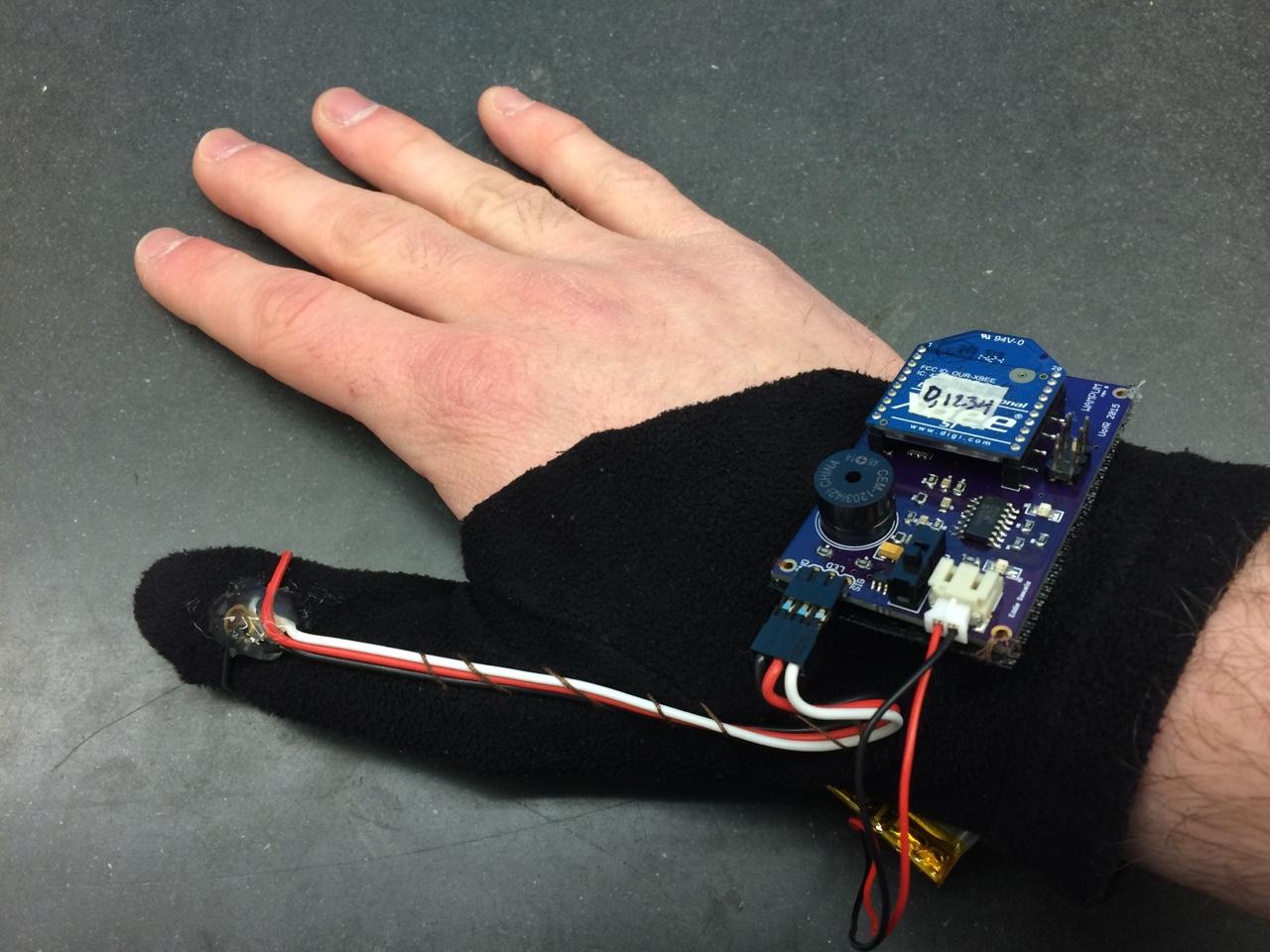 wampum glove